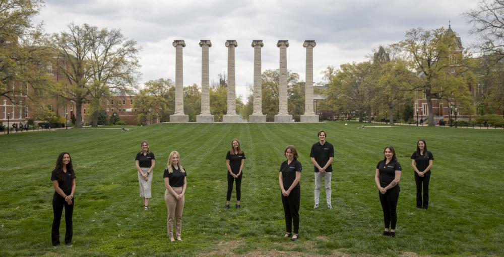 Group photo of spring 2021 ambassadors